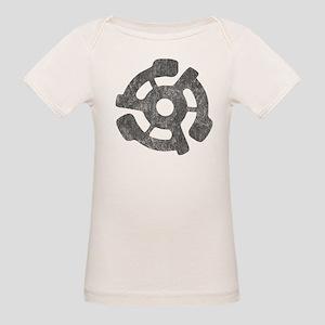 Vintage 45 RPM Organic Baby T-Shirt
