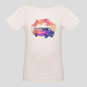 Retro Hippie Van Grunge Style Organic Baby T-Shirt