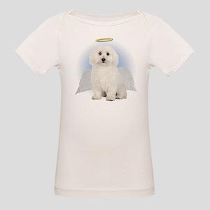 Angel Bichon Frise Organic Baby T-Shirt