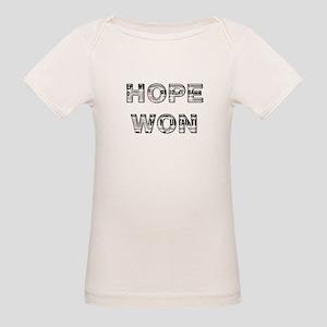 Hope Won/Obama Triumphs in La Organic Baby T-Shirt