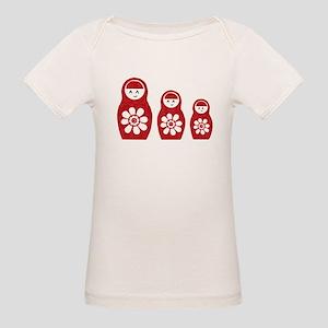 Riyah-Li Designs Nesting Doll Organic Baby T-Shirt