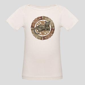 Celtic Cat Organic Baby T-Shirt