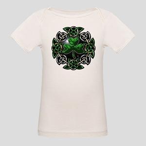 St. Patrick's Day Celtic Knot Organic Baby T-Shirt