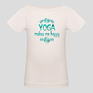Yoga Happiness Organic Baby T-Shirt