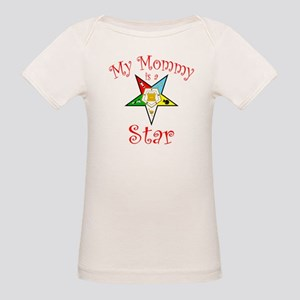 My Mommy's A Star Organic Baby T-Shirt
