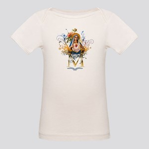 Immaculate Heart of Mary Organic Baby T-Shirt