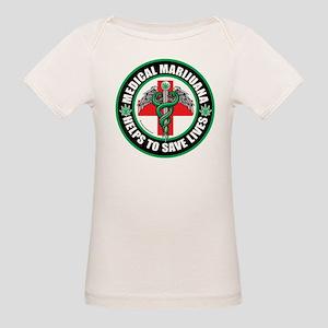 Medical Marijuana Helps Organic Baby T-Shirt