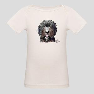 WB Black Doodle Organic Baby T-Shirt