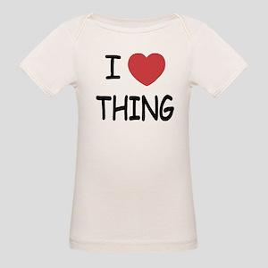 I heart thing Organic Baby T-Shirt