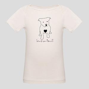 Love-a-Bull Pit Bull Organic Baby T-Shirt