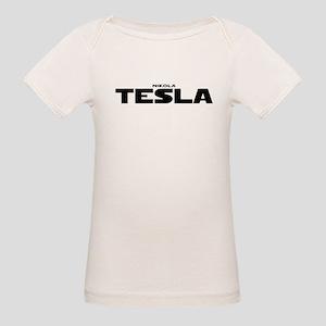 Tesla Organic Baby T-Shirt