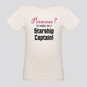 Starship Captain Organic Baby T-Shirt