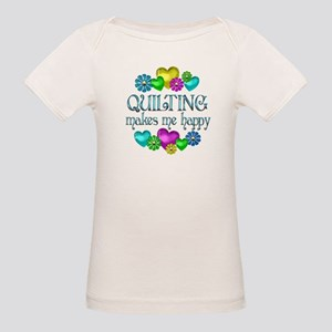 Quilting Happiness Organic Baby T-Shirt