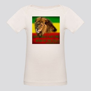 Rastafarian Lion Organic Baby T-Shirt