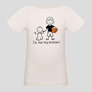 Big Brother - Stick Character Organic Baby T-Shirt