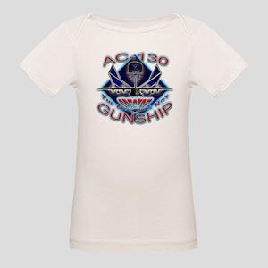 USAF AC-130 Gunship Skull Organic Baby T-Shirt