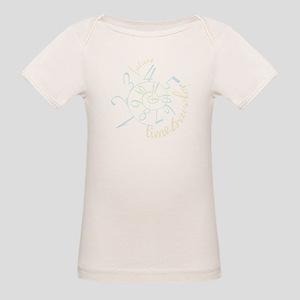 Future Time Traveler Organic Baby T-Shirt