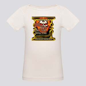 USAF AC-130 Spectre Skull Gol Organic Baby T-Shirt