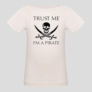 Trust Me I'm a Pirate Organic Baby T-Shirt
