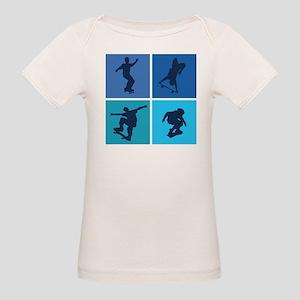 Nice various skating Organic Baby T-Shirt