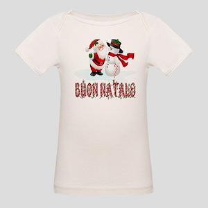 Buon natale Organic Baby T-Shirt
