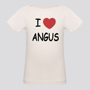 I heart angus Organic Baby T-Shirt