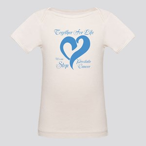 Personalize Prostate Cancer Organic Baby T-Shirt