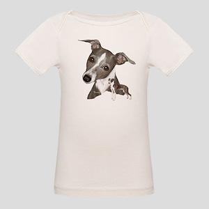 Italian Greyhound art Organic Baby T-Shirt