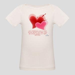 Hearts - Made My Life Better Organic Baby T-Shirt