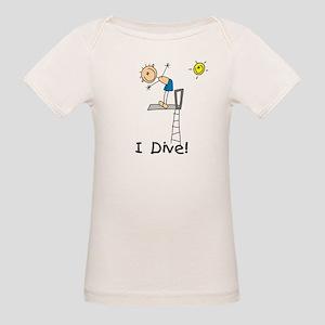 Boy I Dive Organic Baby T-Shirt
