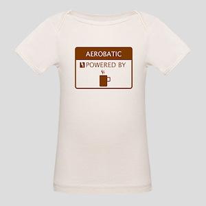 Aerobatic Powered by Coffee Organic Baby T-Shirt