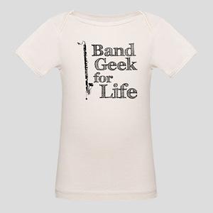 Bass Clarinet Band Geek Organic Baby T-Shirt
