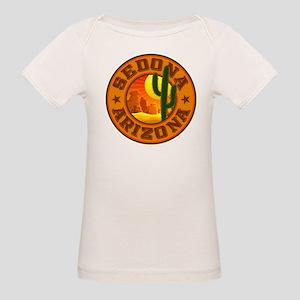 Sedona Desert Circle Organic Baby T-Shirt