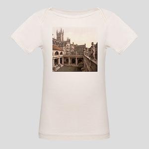 Roman Baths and Abbey Organic Baby T-Shirt
