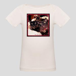 Three Cats Organic Baby T-Shirt