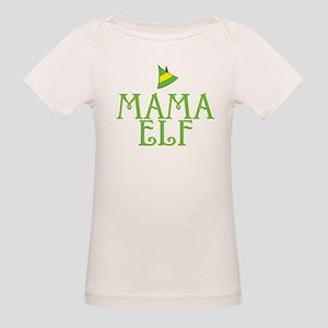 Mama Elf Organic Baby T-Shirt
