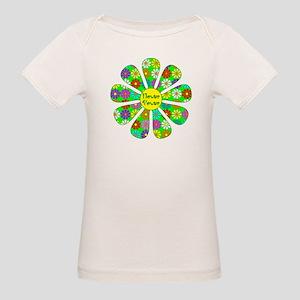 Cool Flower Power Organic Baby T-Shirt