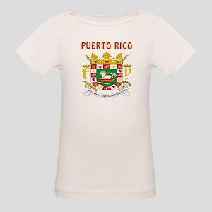 Puerto Rico Coat of arms Organic Baby T-Shirt