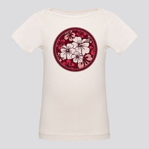 Red Hisbiscus T-Shirt