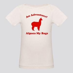 An Adventure? Alpaca My Bags Organic Baby T-Shirt