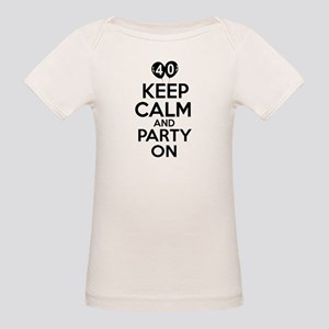 Funny 40 year old gift ideas Organic Baby T-Shirt