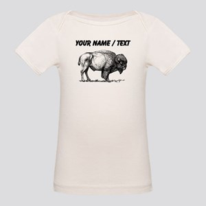 Custom Bison Sketch T-Shirt