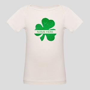 Custom Name Shamrock T-Shirt