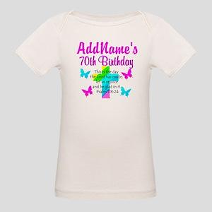 70TH PRAISE GOD Organic Baby T-Shirt