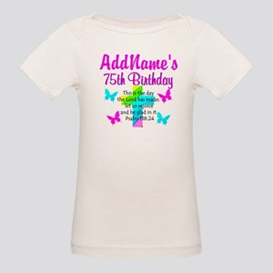 75TH CHRISTIAN Organic Baby T-Shirt