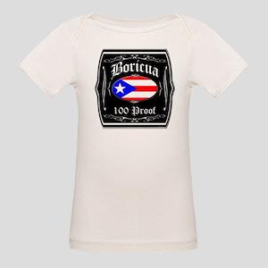 Boricua 100 Proof Organic Baby T-Shirt