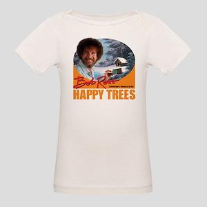 DarkT_HappyTrees_SunsetOrange T-Shirt