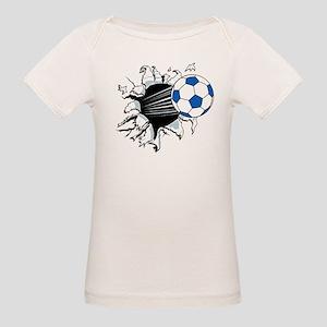 Breakthrough Soccer Ball Organic Baby T-Shirt