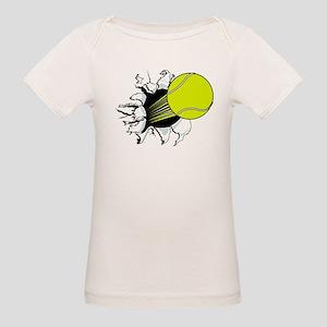Breakthrough Tennis Ball Organic Baby T-Shirt