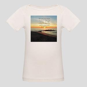 SERENITY PRAYER Organic Baby T-Shirt